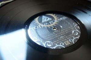Black 180 gram vinyl